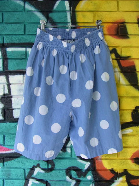 画像3: [USED]-90's【KRAZY KAT】DOT DESIGN SHORTS