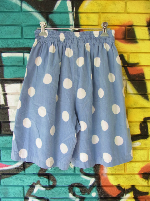 画像4: [USED]-90's【KRAZY KAT】DOT DESIGN SHORTS
