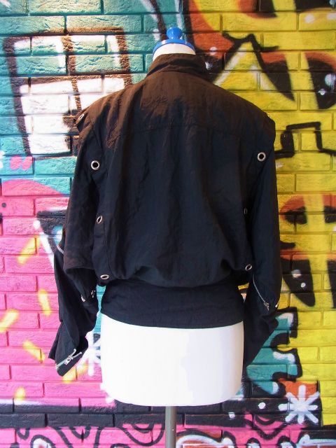画像4: [USED]-80's【YU-MO】PARACHUTE DESIGN NYLON JACKET