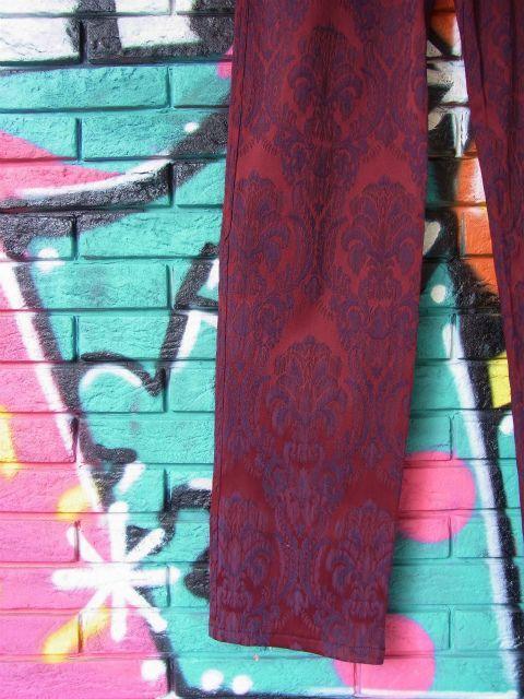 画像2: [USED]-80's【TRIPP MAN】ALL OVER DESIGN LONG PANTS