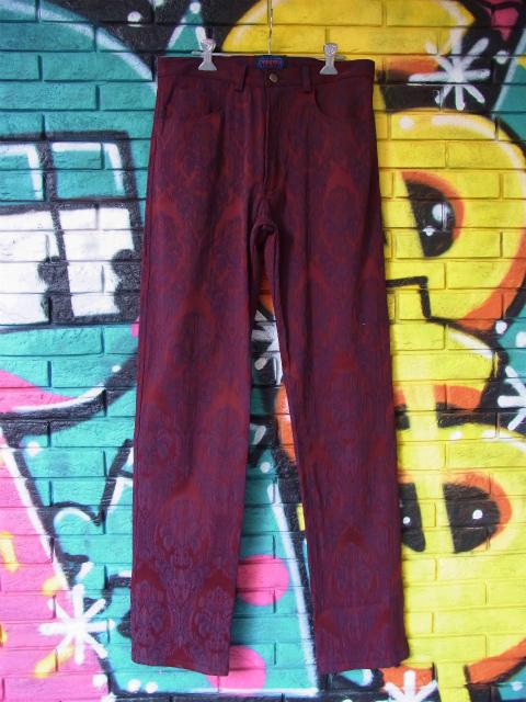 画像3: [USED]-80's【TRIPP MAN】ALL OVER DESIGN LONG PANTS