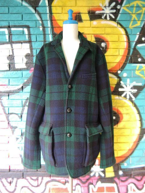 画像1: [USED]-90's【POLO by Ralph Lauren】CHACK DESIGN TAILORED KNIT JACKET