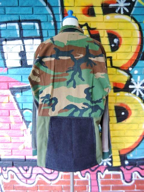 画像2: [USED]-【THE PRANK-ザ・プランク-】CUATOM DESIGN SHIRTS JACKET-No.011