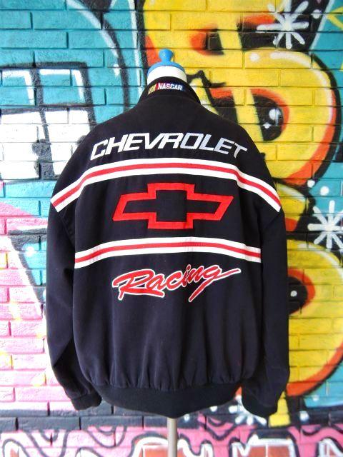 """画像2: [USED]-90's【ESSEX】""""CHEVROLET Racing"""" RACING JACKET"""