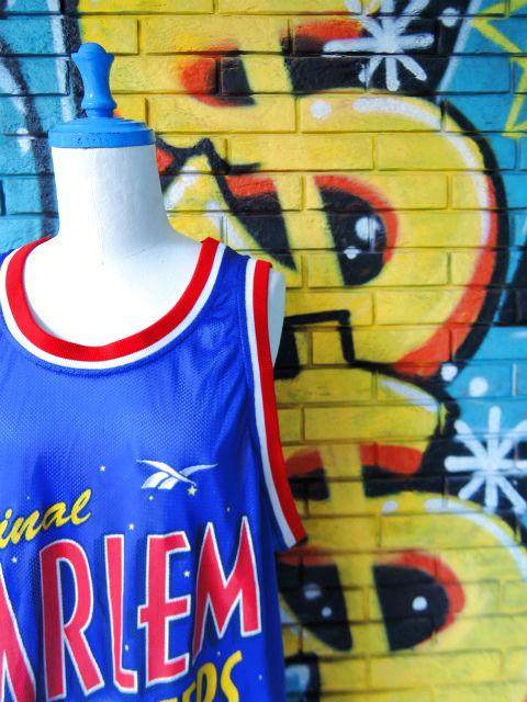 """画像3: [USED]-90's【REEBOK】""""HARLEM GLOBETROTTERS DUNBER #41"""" BASKETBALL GAME Shirts"""