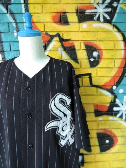 """画像3: [USED]-90's【Majestic】""""CHICAGO WHITE SOX"""" BASEBALL Shirts"""