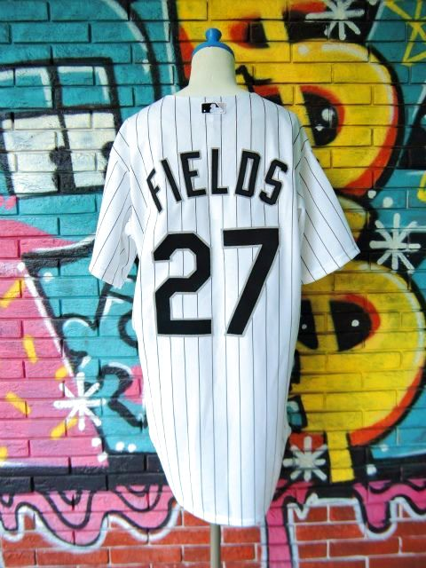 "画像2: [USED]-90's【Majestic】""CHICAGO WHITE SOX FIELDS #27"" BASEBALL Shirts"