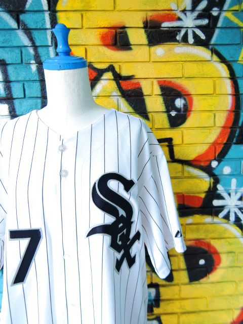 "画像3: [USED]-90's【Majestic】""CHICAGO WHITE SOX FIELDS #27"" BASEBALL Shirts"