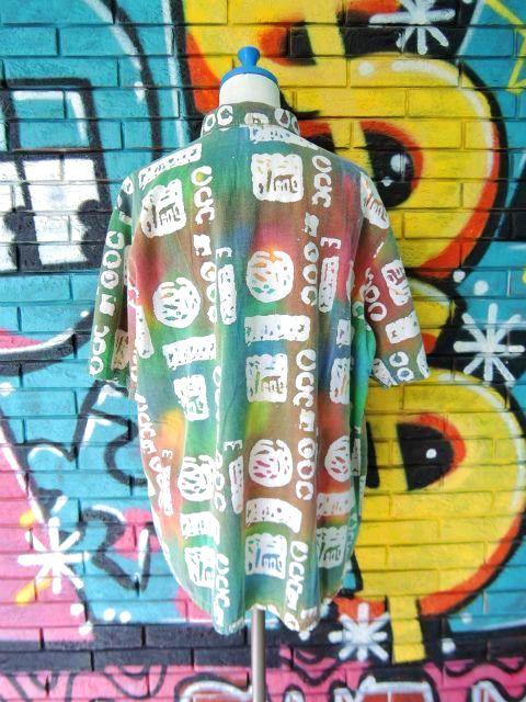 画像2: [USED]-90's【CUPPUCCINO】ALL OVER DESIGN S/S-Shirts
