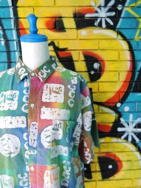画像3: [USED]-90's【CUPPUCCINO】ALL OVER DESIGN S/S-Shirts