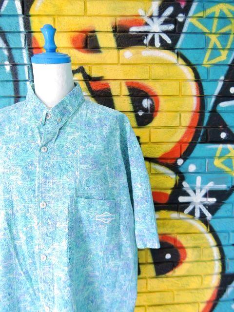 画像3: [USED]-90's【GOTCHA】ALL OVER DESIGN S/S-Shirts