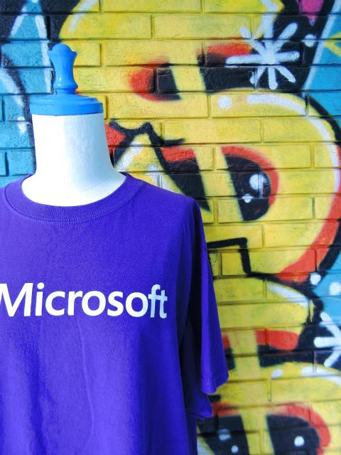 """画像3: [USED]-90s【FRUIT OF THE ROOM】""""Microsoft"""" PRINT T-Shirts"""