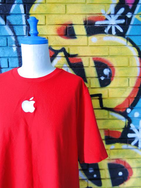 画像3: [USED]-2Ks【Apple Computer】ONE POINT EMBROIDERY T-Shirts