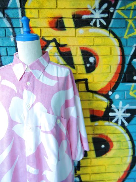 画像3: [USED]-90s【MEN'S FASHION】ALL OVER DESIGN S/S-Shirts