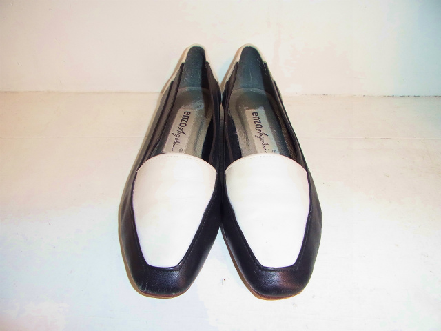 画像1: [USED]-80's【enzo】2TONE LOAFER