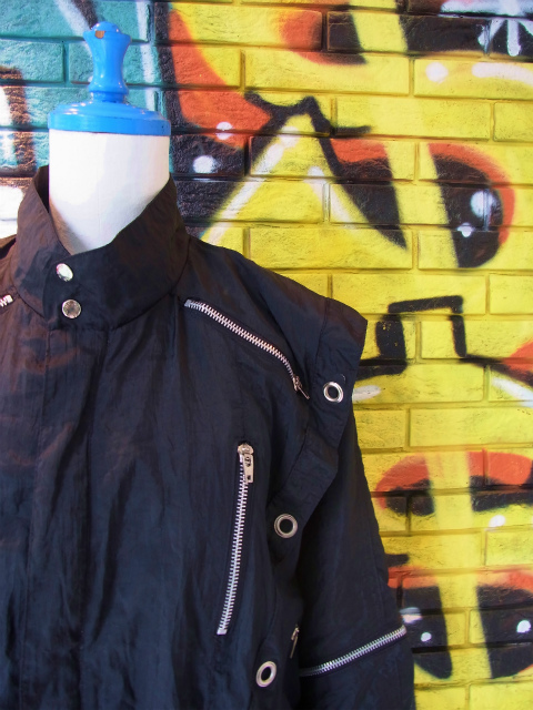 画像1: [USED]-80's【YU-MO】PARACHUTE DESIGN NYLON JACKET