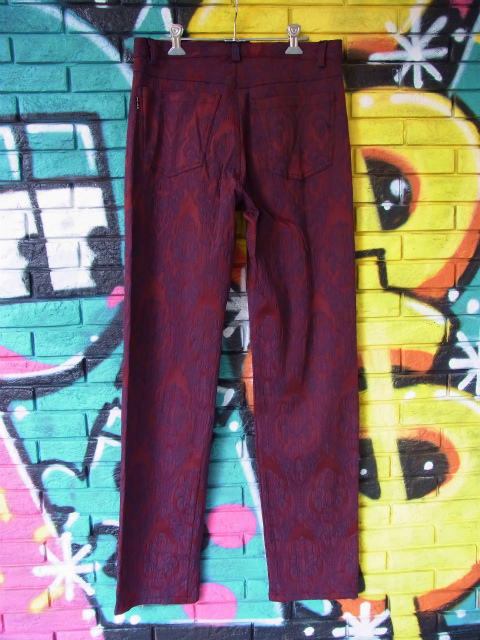 画像4: [USED]-80's【TRIPP MAN】ALL OVER DESIGN LONG PANTS