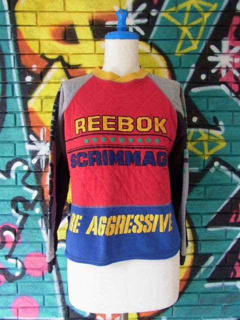 画像3: [USED]-80's【REEBOK SPORT】 RACING DESIGN SWEAT