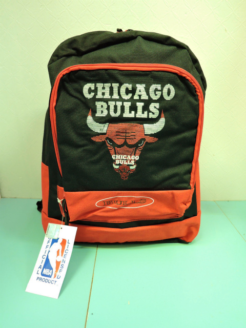 画像1: [DEAD STOCK]-90's【CHICAGO BULLS】BACKPACK