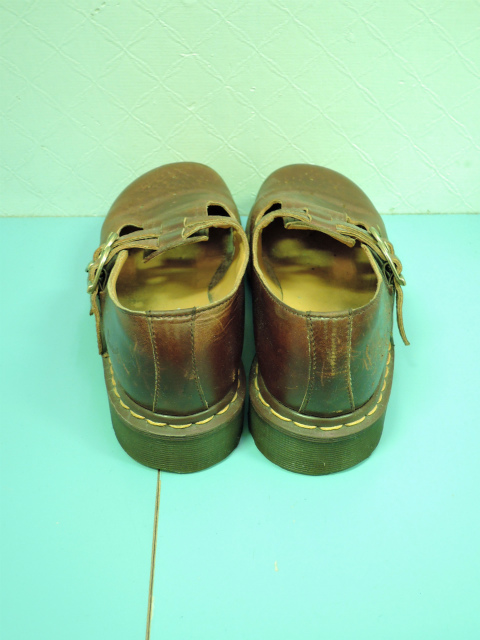 画像4: [USED]-80's【Dr.Martens】2 STRAP DESIGN LEATHER SHOES