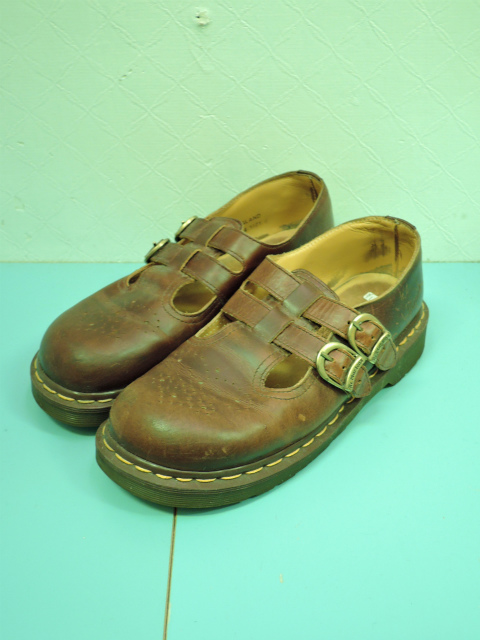 画像3: [USED]-80's【Dr.Martens】2 STRAP DESIGN LEATHER SHOES