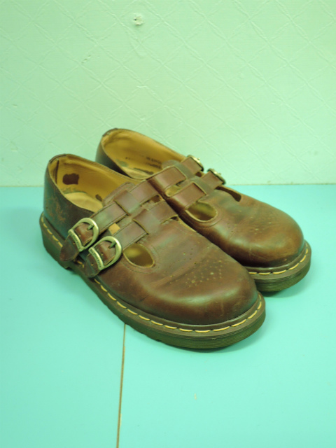 画像2: [USED]-80's【Dr.Martens】2 STRAP DESIGN LEATHER SHOES