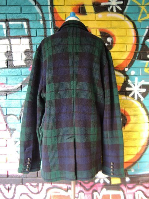 画像2: [USED]-90's【POLO by Ralph Lauren】CHACK DESIGN TAILORED KNIT JACKET