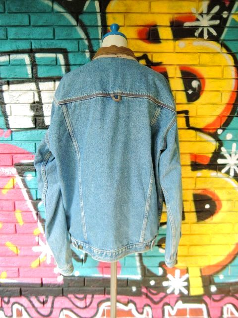 画像2: [USED]-90's【ST JHON'SBAY】COLLAR DESIGN DENIM JACKET