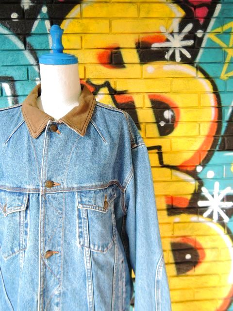 画像3: [USED]-90's【ST JHON'SBAY】COLLAR DESIGN DENIM JACKET