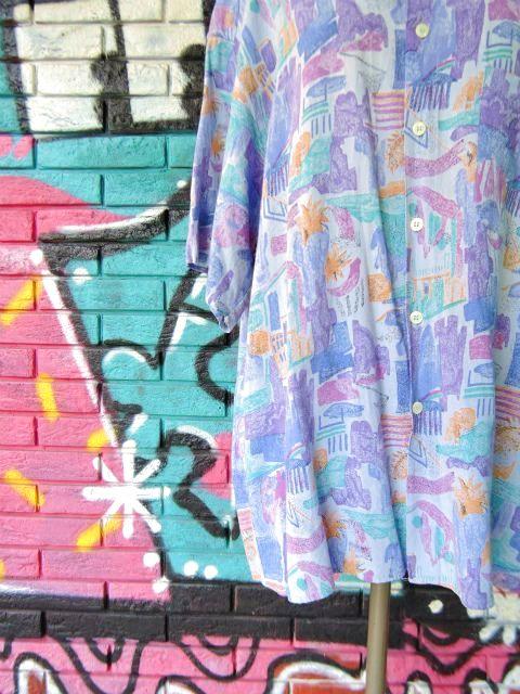 画像4: [USED]-90s【Cartouche】ALL OVER DESIGN S/S-Shirts