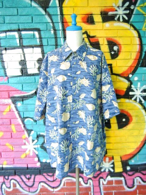 画像1: [USED]-90s【pierre cardin】ALL OVER DESIGN S/S-Shirts